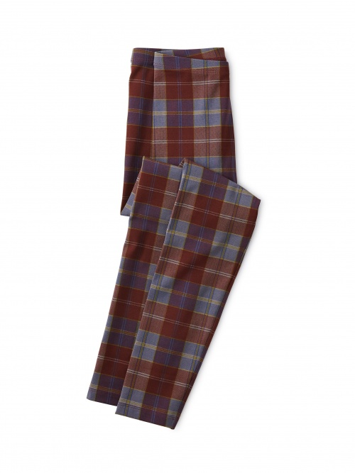 Family Plaid Leggings