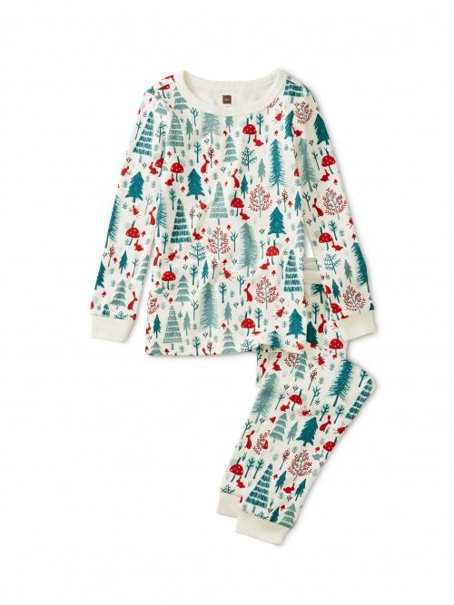 Patterned Pajamas