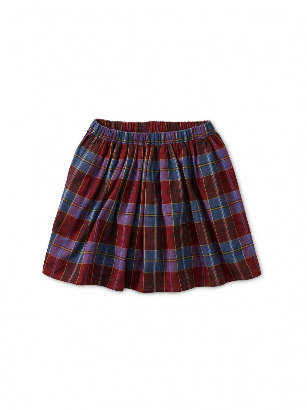 Family Plaid Twirl Skirt