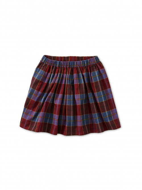 Family Plaid Twirl Skirt