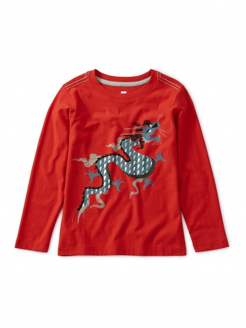 Foiled Dragon Graphic Tee