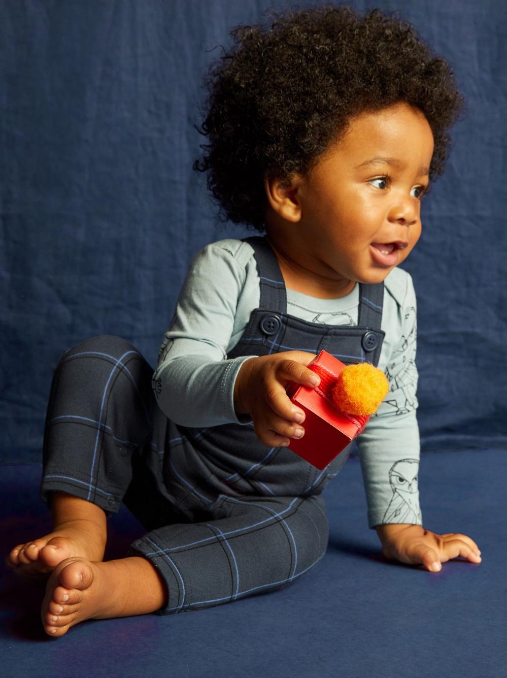 Plaid Baby Overalls