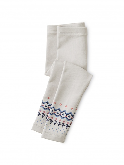 Fairisle Cozy Baby Leggings
