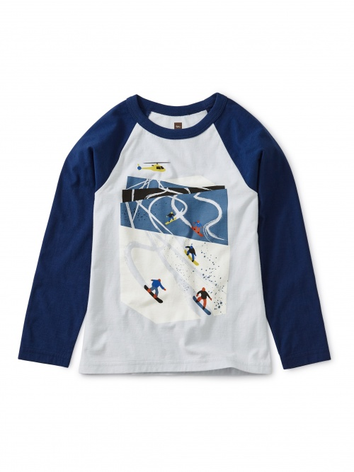 Ski Slopes Raglan Tee