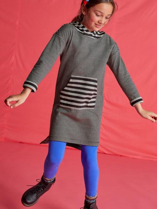 Double Knit Hooded Dress