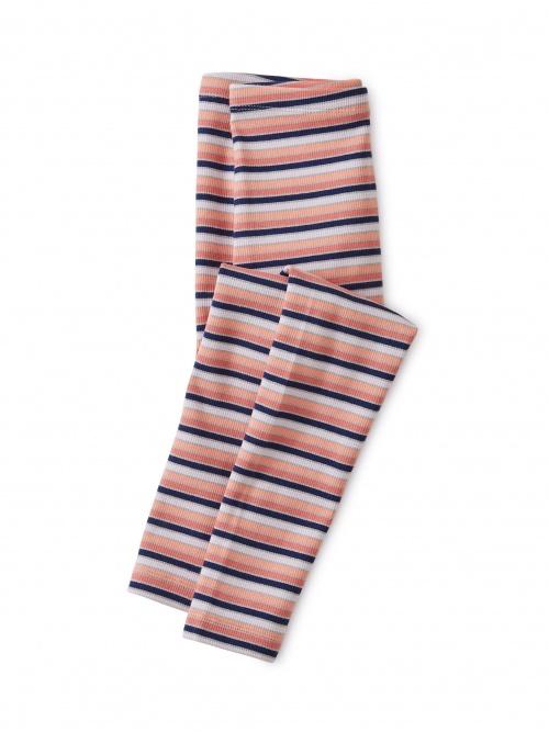 Multi Stripe Ribbed Leggings