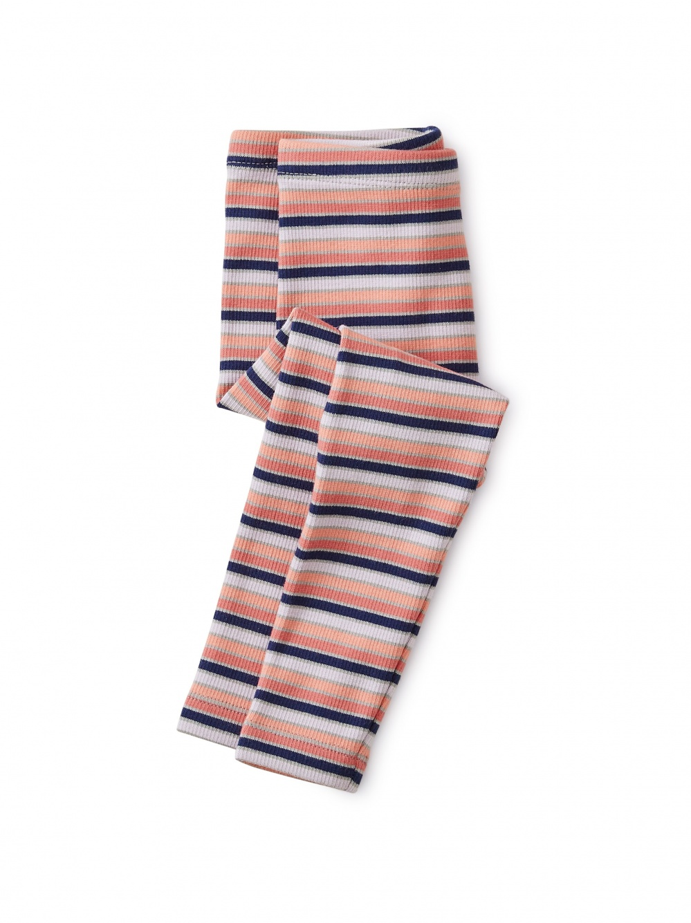 Striped Ribbed Baby Leggings