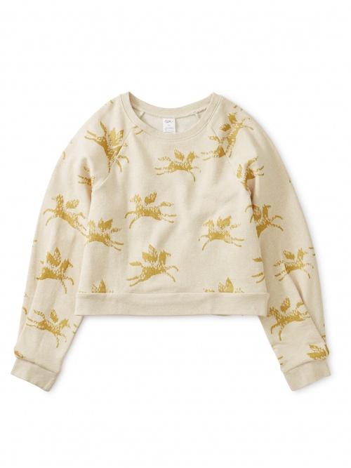 Metallic Wind Horse Sweatshirt