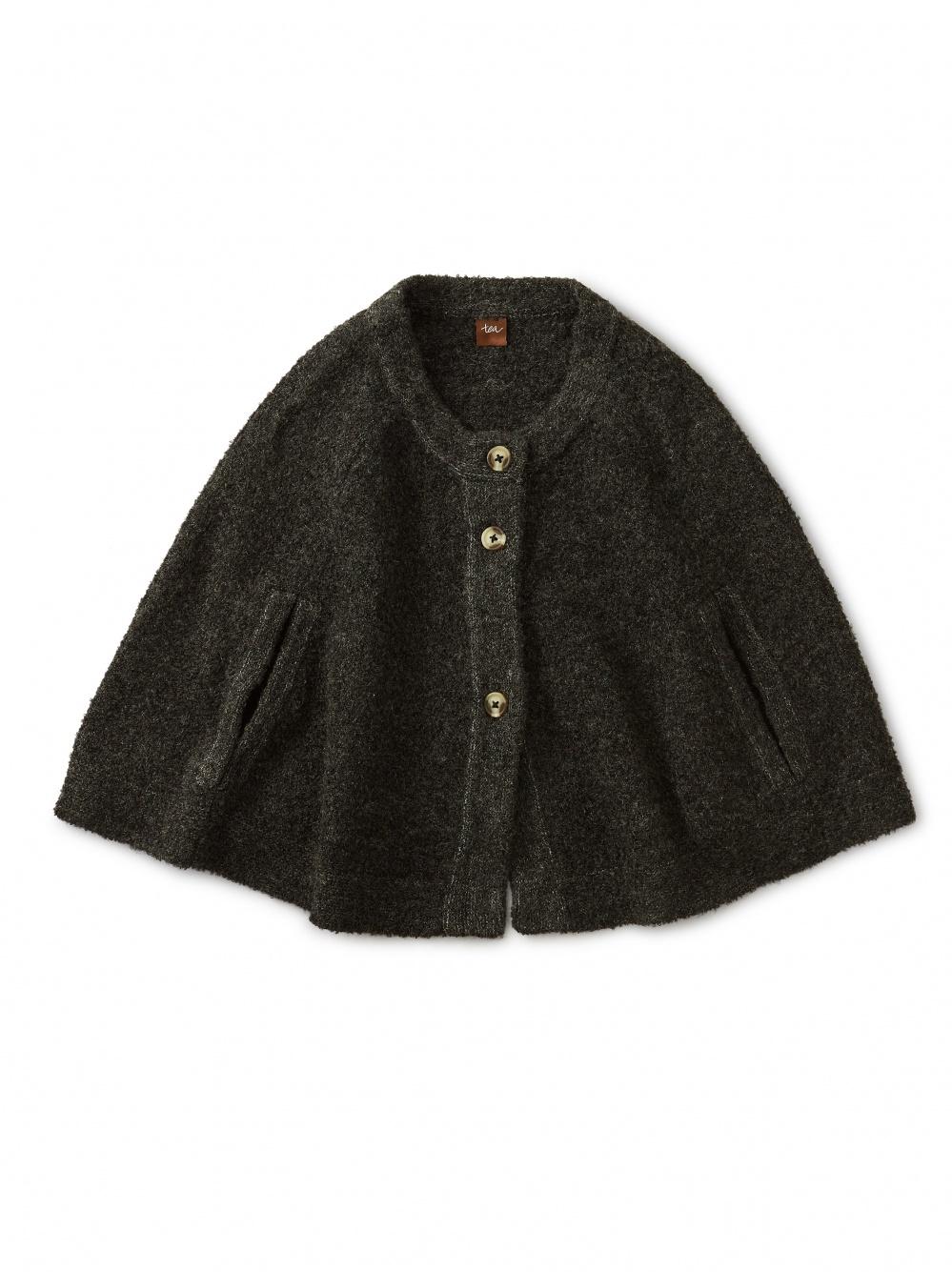 Bouclé Sweater Cape
