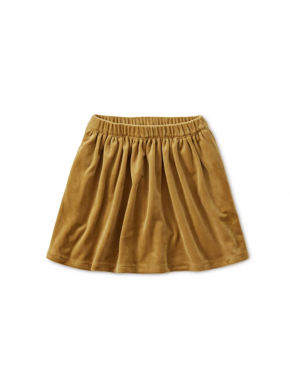 Velour Twirl Skirt