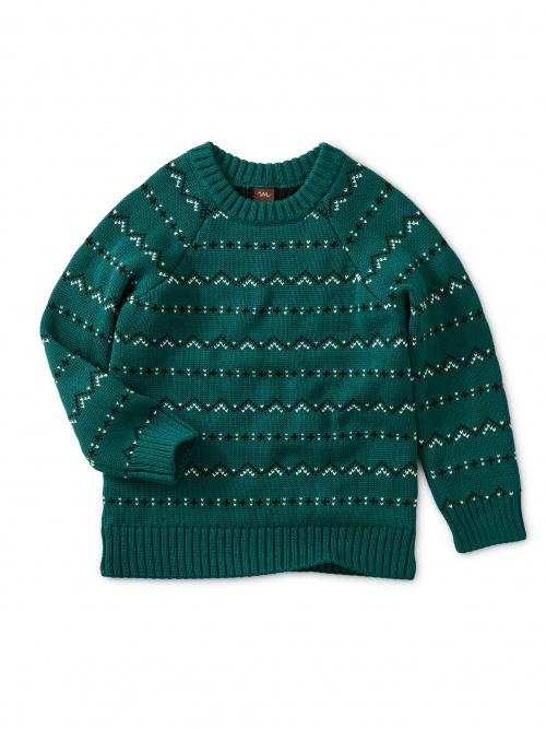 Crewneck Fairisle Sweater