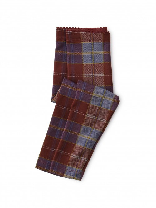Family Plaid Baby Leggings