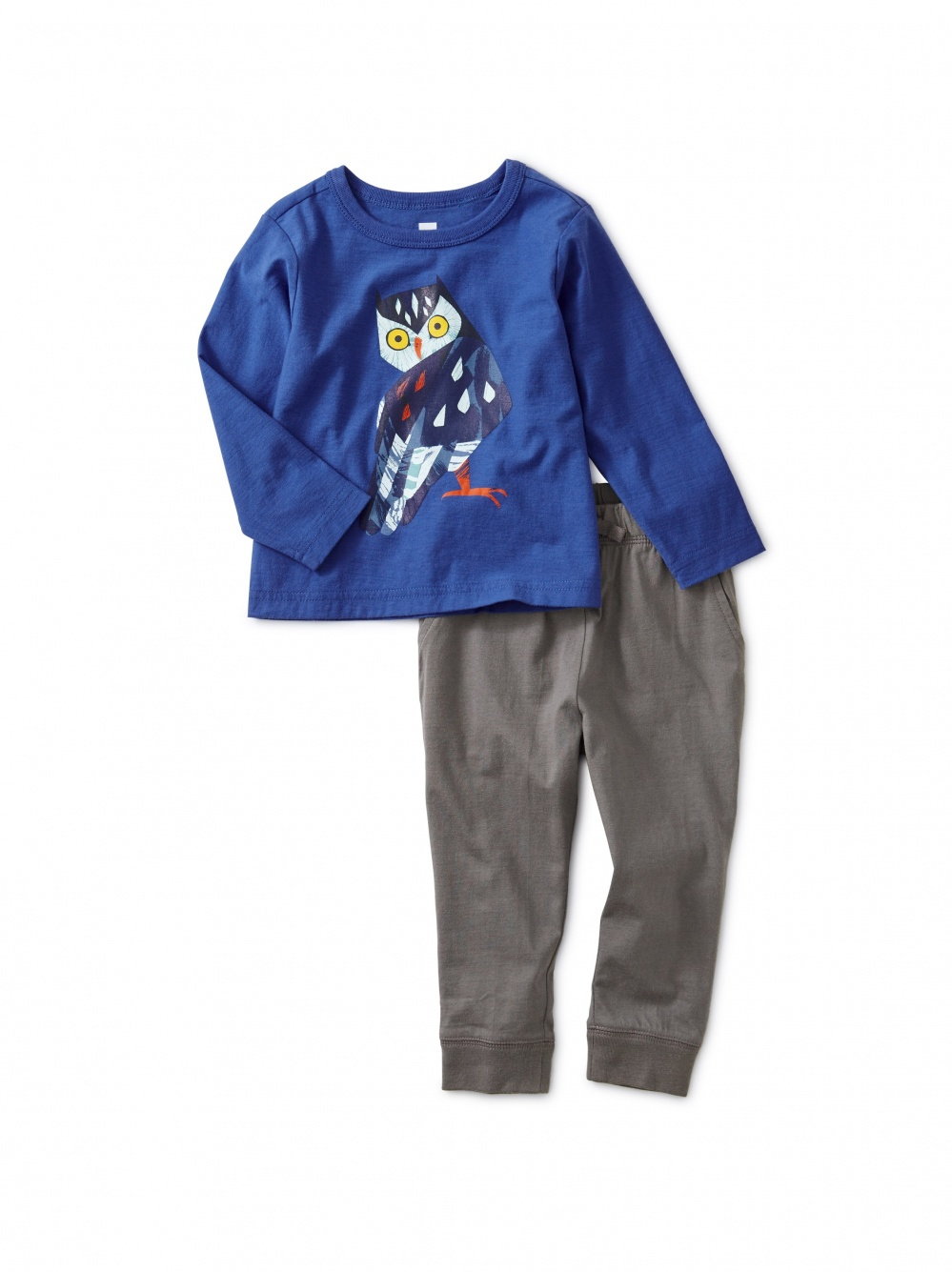 Owl Graphic Baby Jogger Set