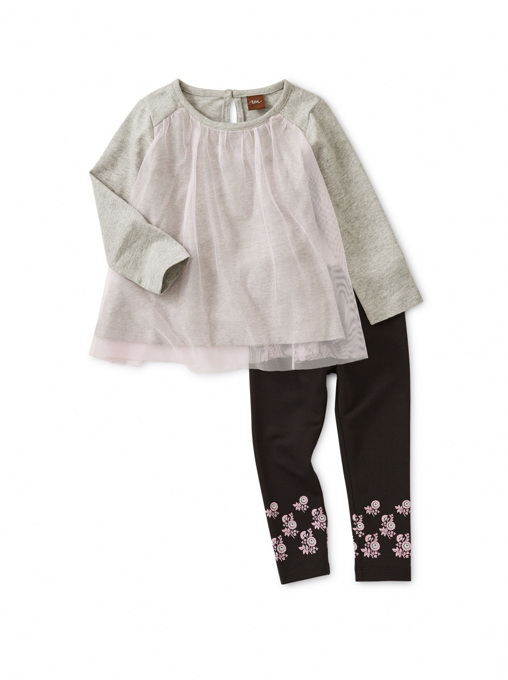 Twirling Tulle Baby Set