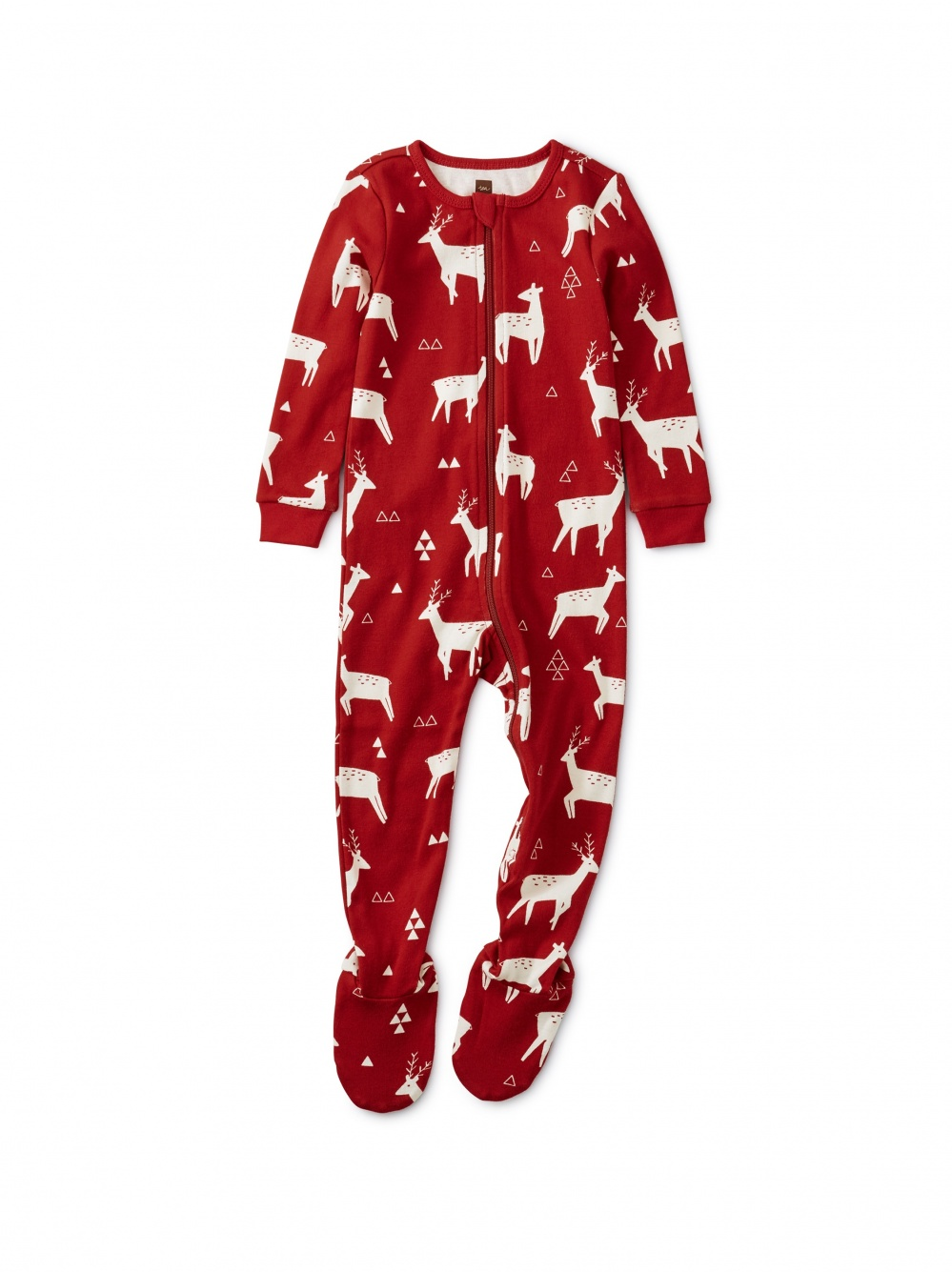 Patterned Footed Pajamas