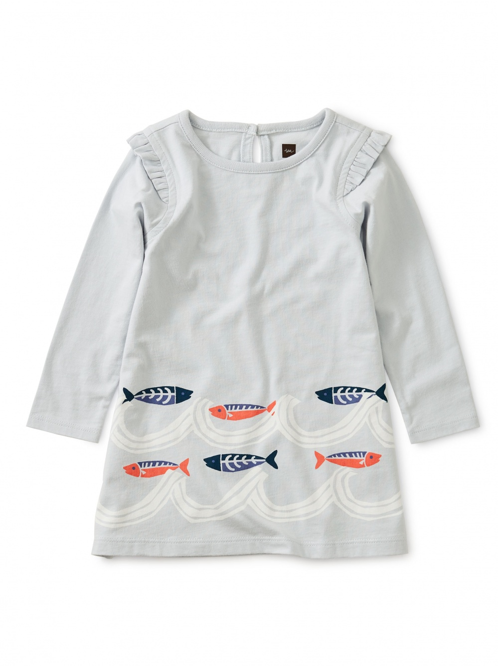 Fish Wave Baby Dress