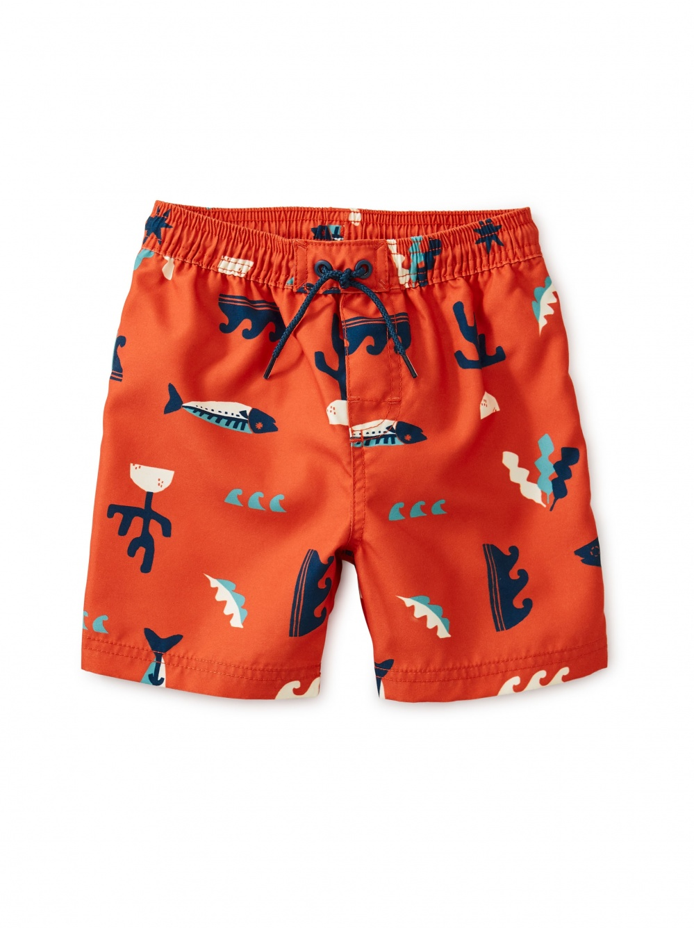 Printed Baby Swim Trunks