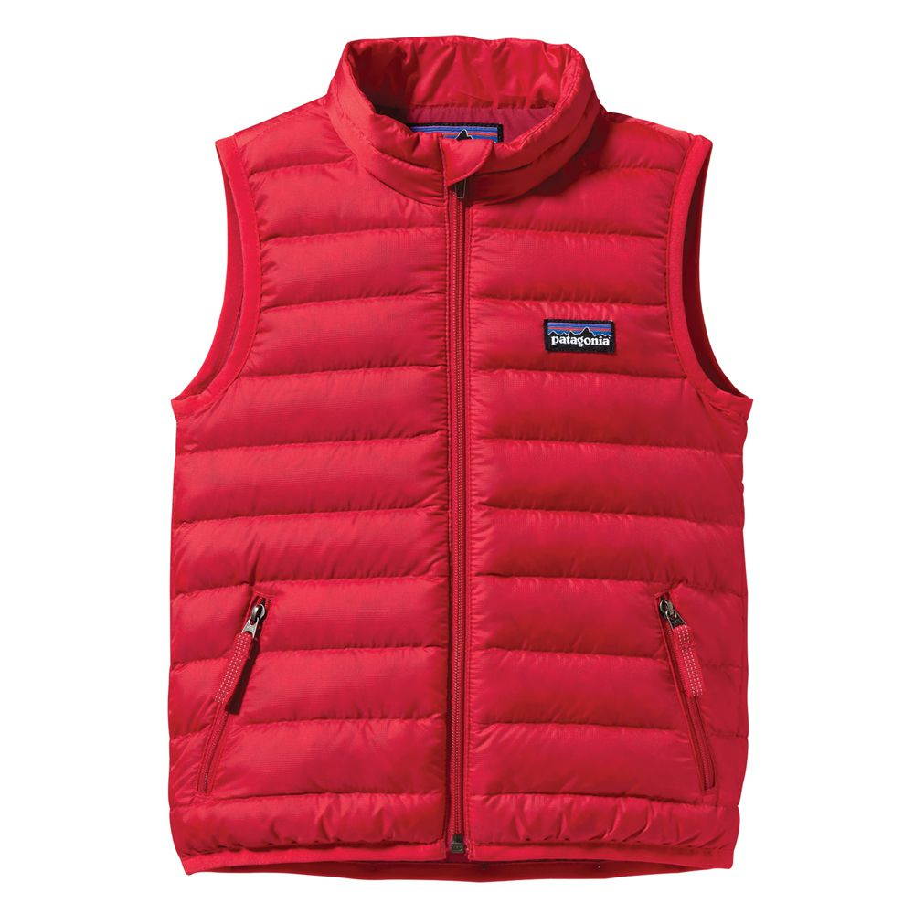 Patagonia Baby Down Vest Tea Collection