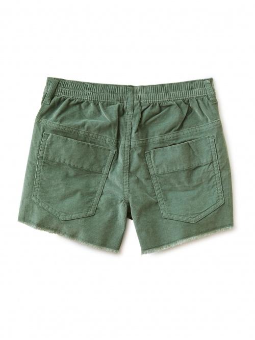 Corduroy Cut-Off Shorts