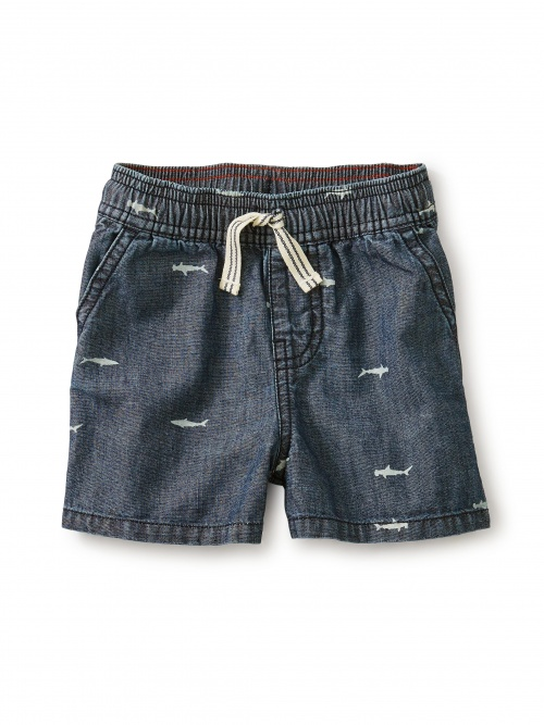 Chambray Discovery Shorts
