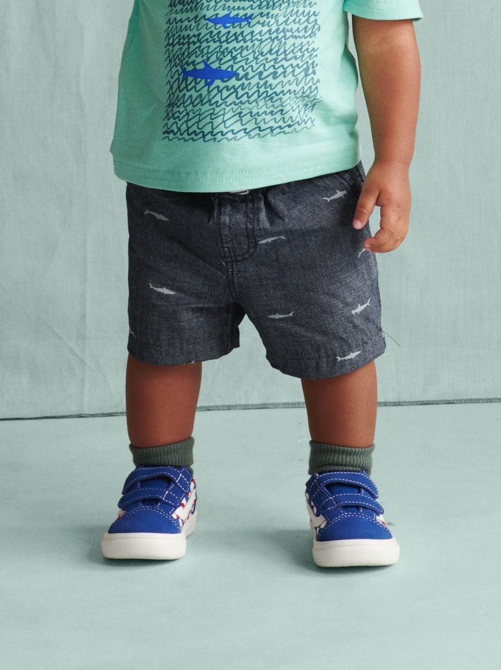 Chambray Discovery Shorts