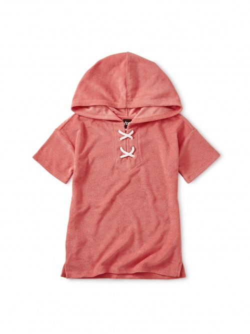 Hooded Terry Cloth Top