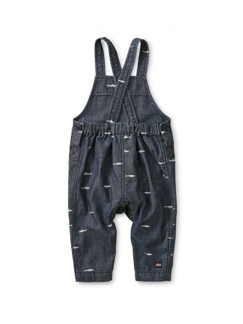 Chambray Crossback Overall