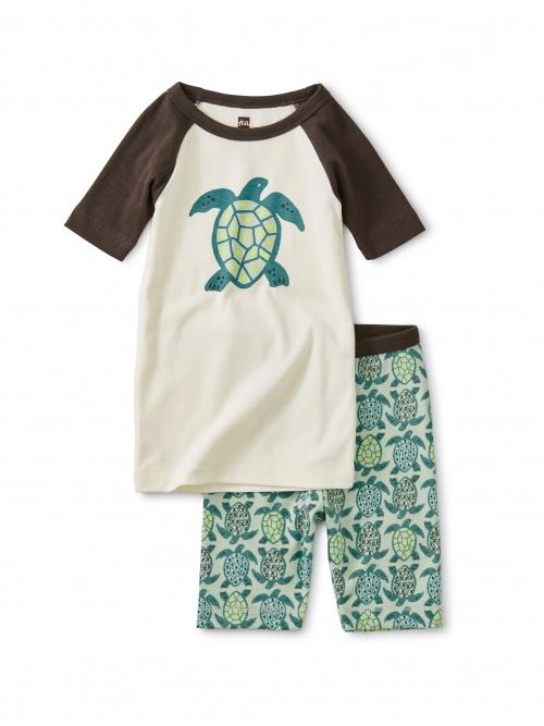 Graphic Shortie Pajamas
