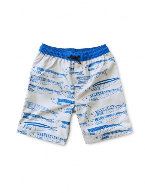 Full-Length Swim Trunks