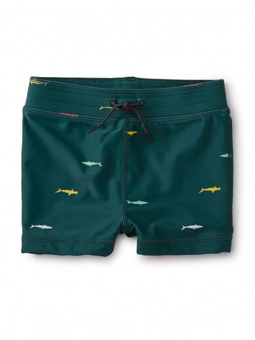 Printed Swim Shorties