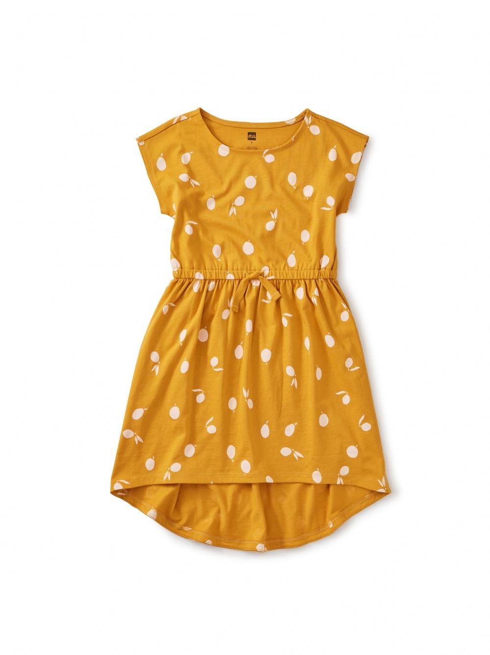 Hi-Lo Tie Waist Dress