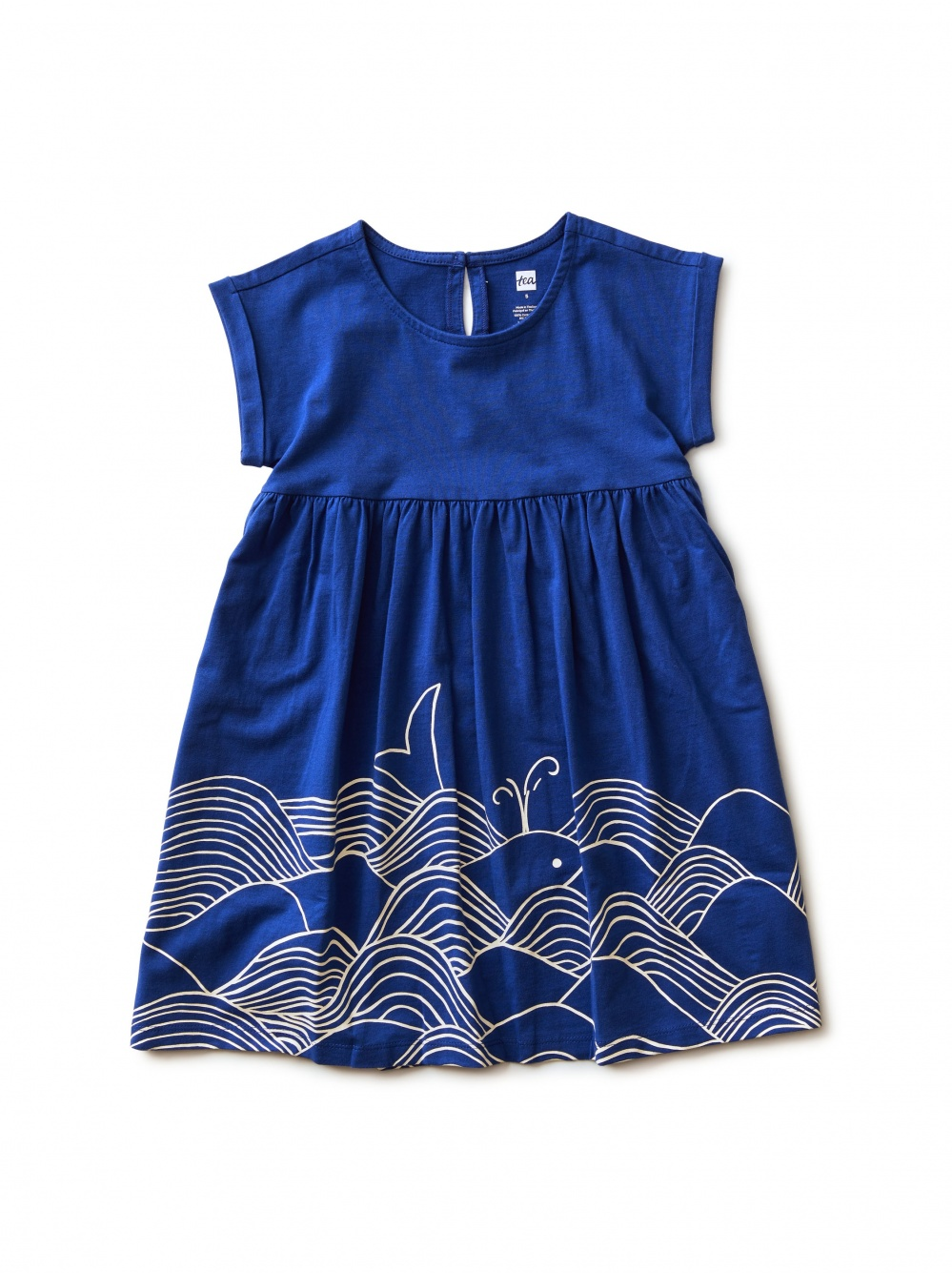 Minoan Whale Graphic Dress