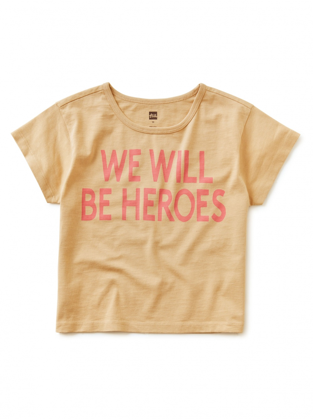 We Will Be Heroes Graphic Tee
