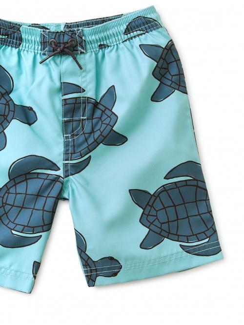 Full-Length Swim Trunks