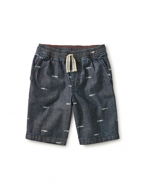 Chambray Discovery Short