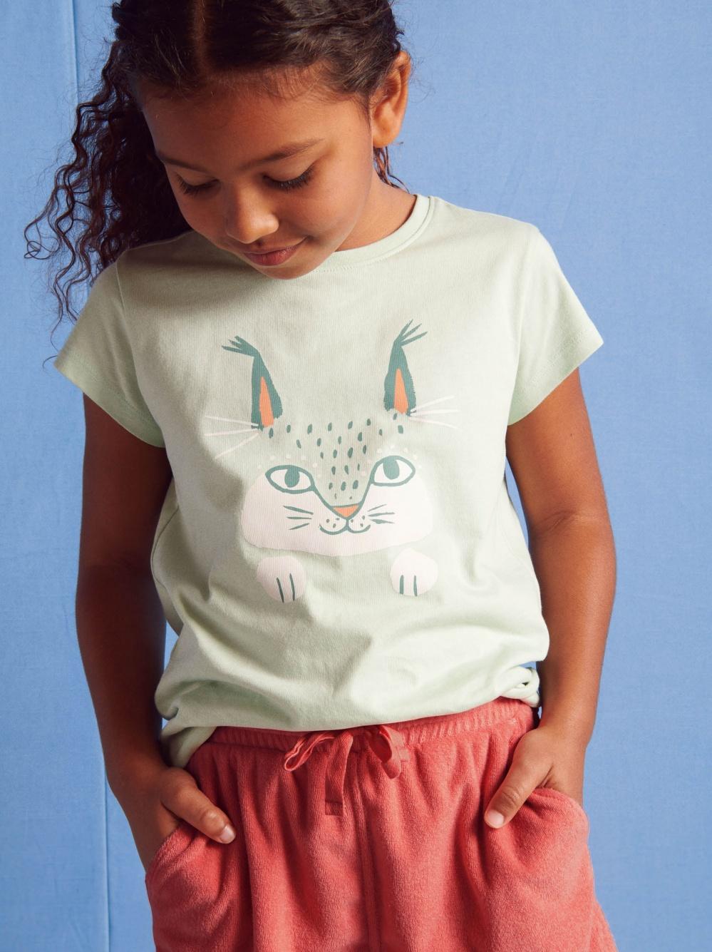 Here Lynxy Lynxy Graphic Tee