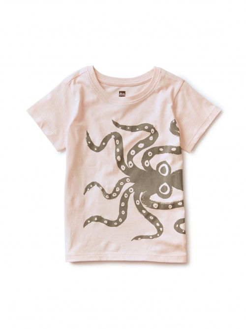 Wiggly Octopus UV Graphic Tee