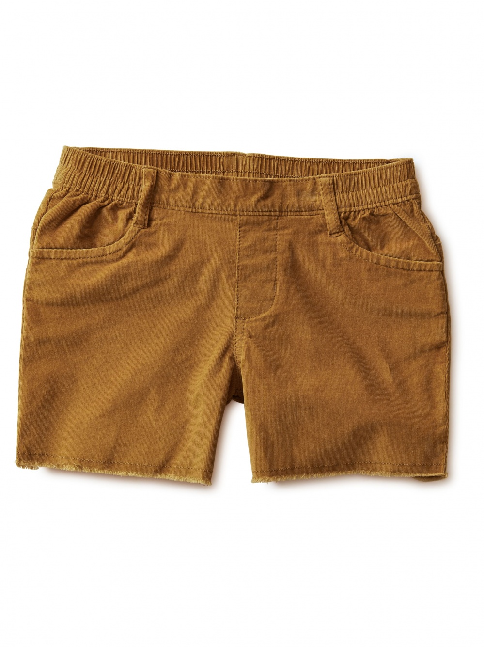 Corduroy Cut-Off Shorts