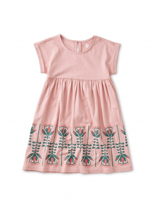 Lotus Graphic Dress
