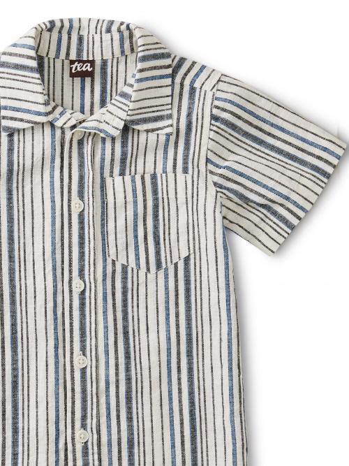 Striped Woven Shirt