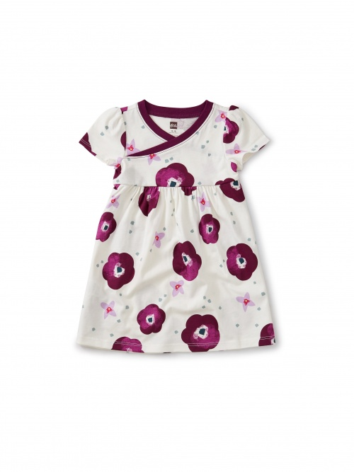 Bougainvillea Wrap Baby Dress