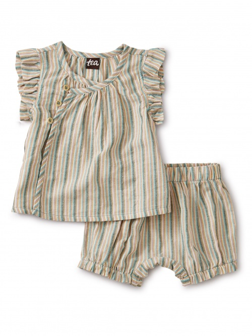 Sparkle Stripe Wrap Set