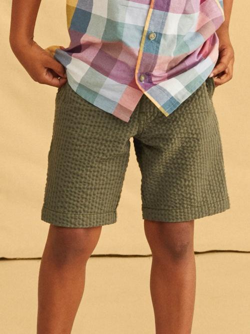 Seersucker Discovery Shorts