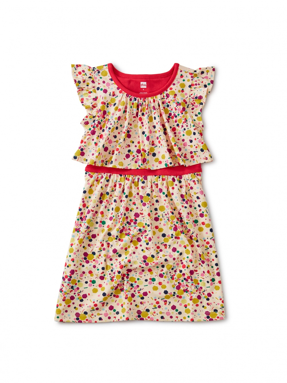 Confetti Tile Swing Dress