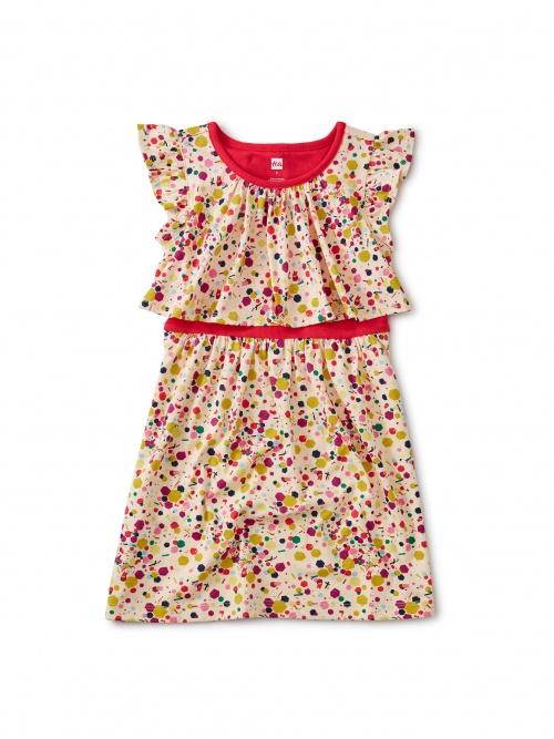 Confetti Tile Swing Dress