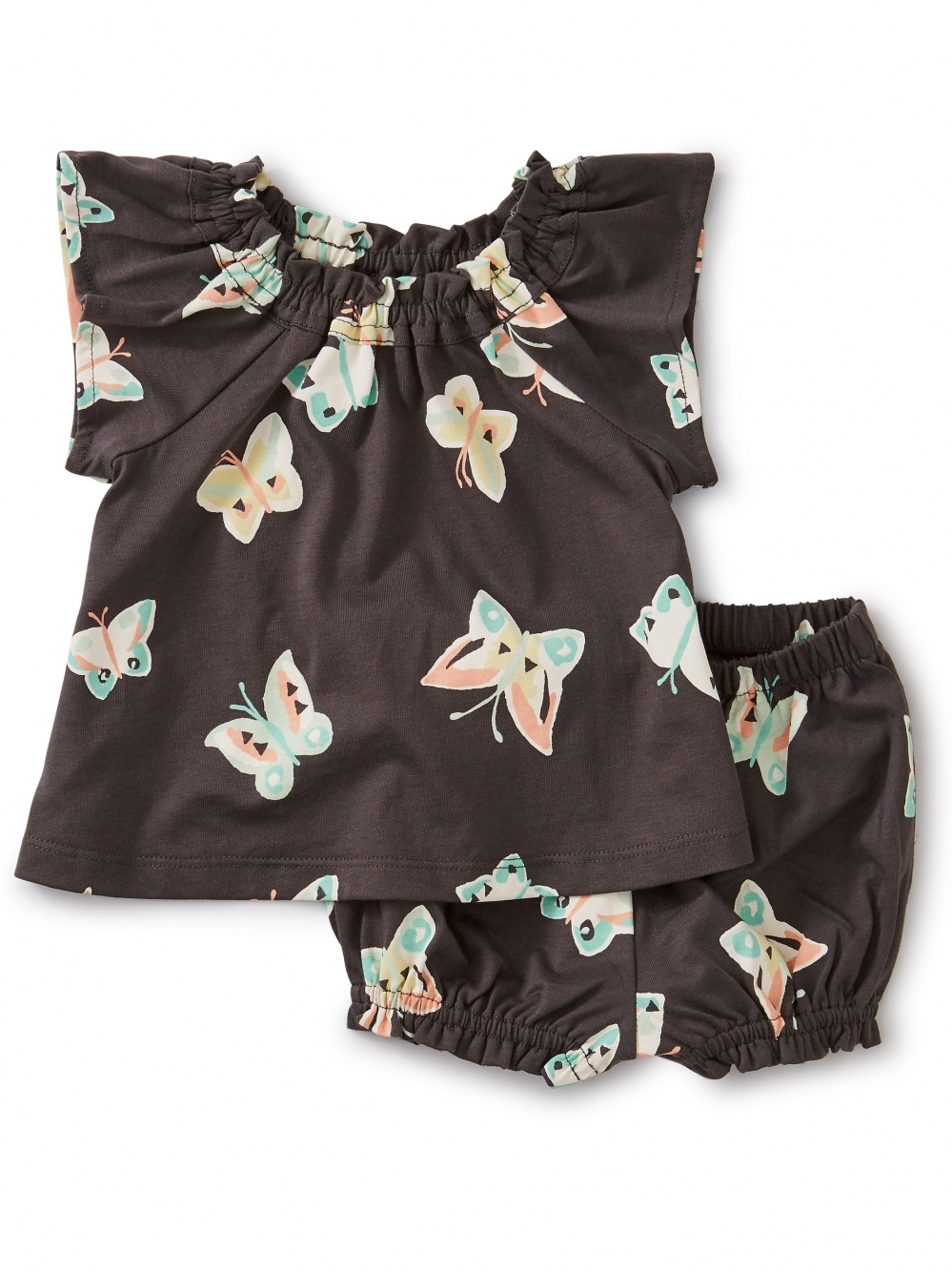 Butterfly Ruffle Baby Set