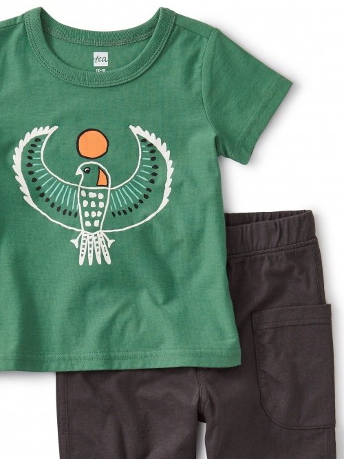 Eagle Pocket Pant Baby Outfit