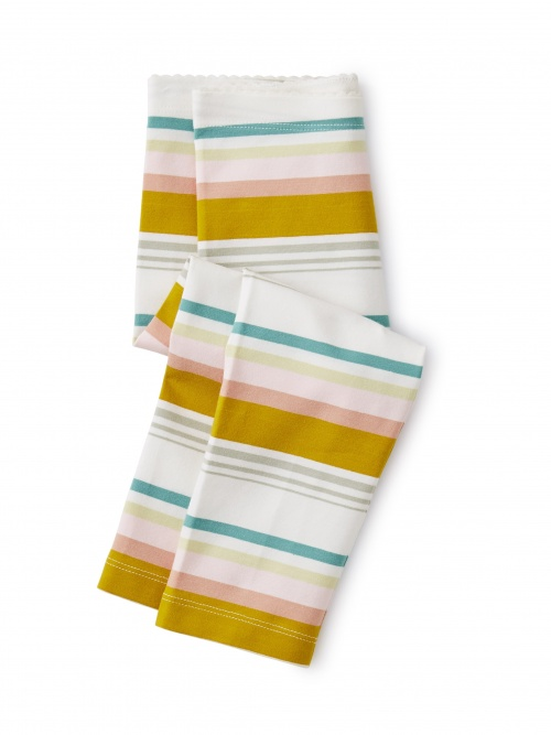 Multi Stripe Capri Leggings
