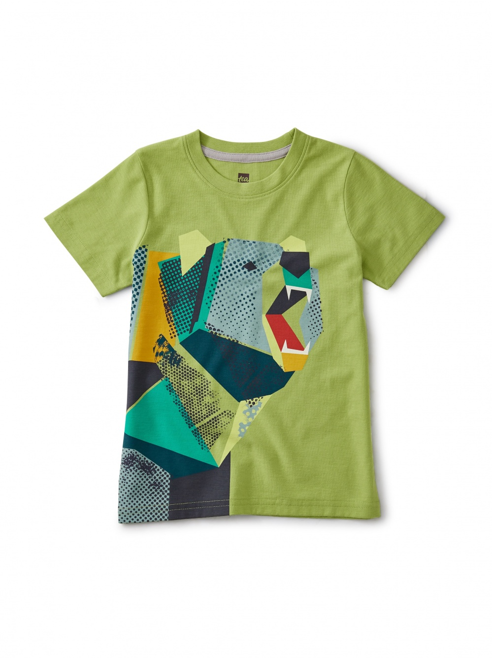 Pop-Art Bear Graphic Tee