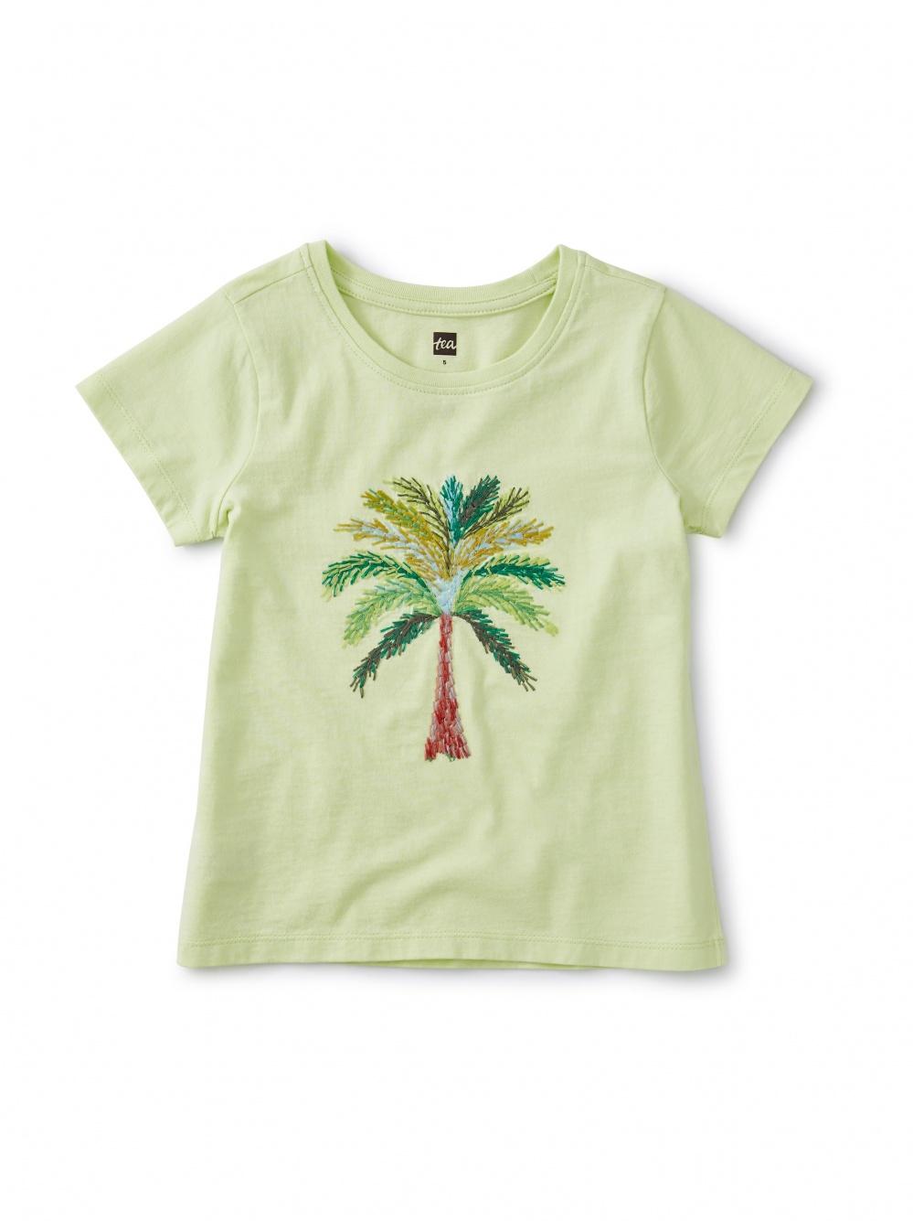 Akhmim Embroidered Palm Tee